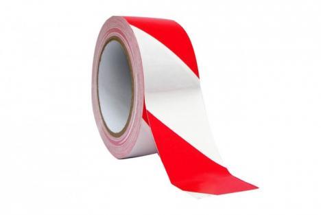 Bekend Afzetlint rood/wit 500 meter PQ28